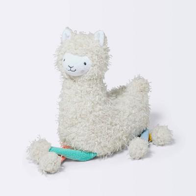 Feathered Sherpa Plush Llama Stuffed Animal - Cloud Island™