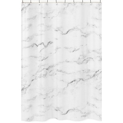 Marble Shower Curtain - Sweet Jojo Designs