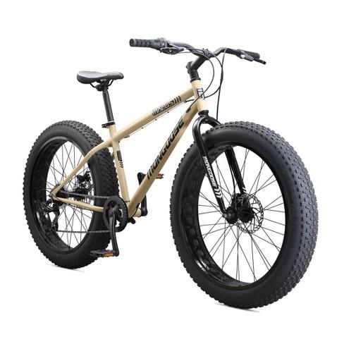 "Mongoose Malus Fat Tire 26"" Mountain Bike - Tan - image 1 of 4"