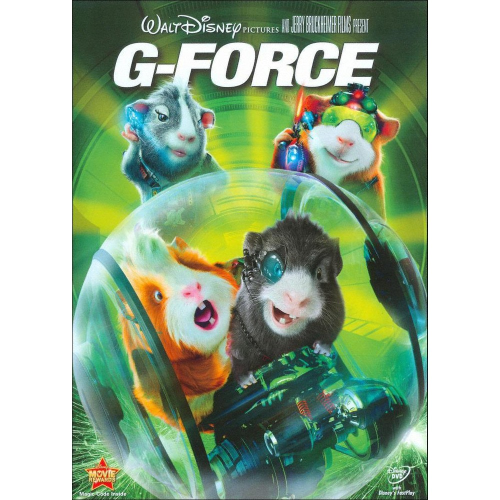 G-Force (dvd_video), Movies