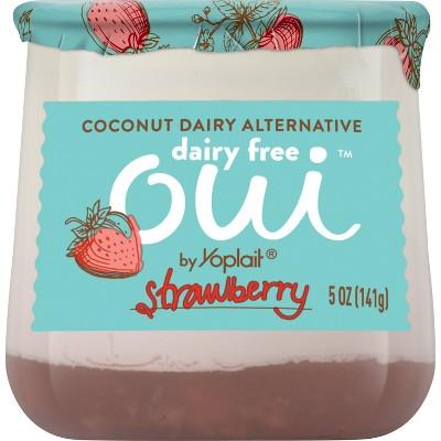 Oui by Yoplait Dairy-Free Strawberry - 5oz