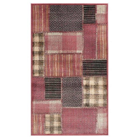 Gemma Vintage Accent Rug Red Multi 3 3 Quot X 5 7