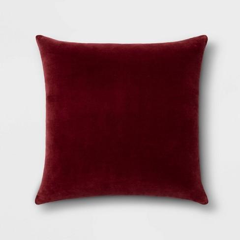 Solid Velvet Pillow - Threshold™ - image 1 of 3