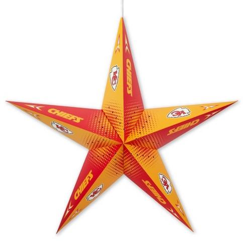 NFL Kansas City Chiefs Star Lantern - image 1 of 2