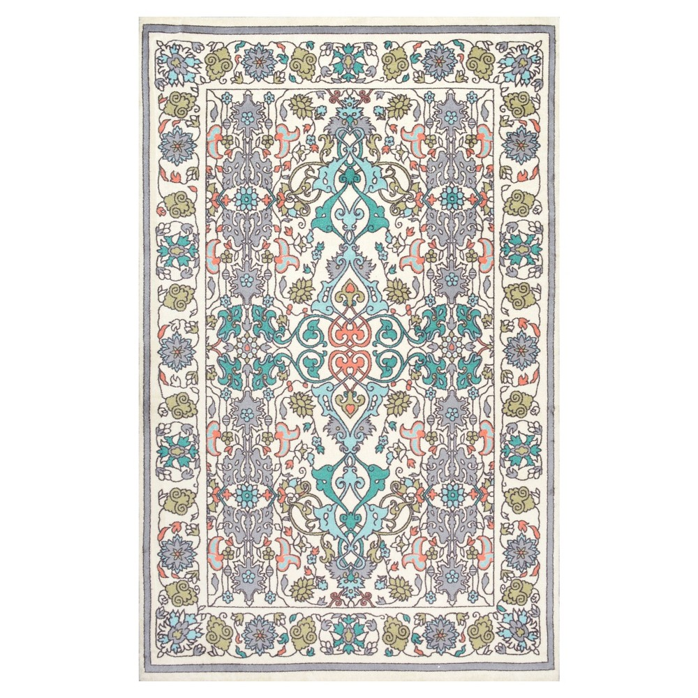 Solid Loomed Area Rug - (9'x12') - nuLOOM, Multicolored
