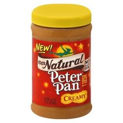 Peter Pan All Natural Creamy Peanut Butter - 16.3oz
