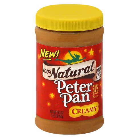 Peter Pan All Natural Creamy Peanut Butter - 16.3oz - image 1 of 1