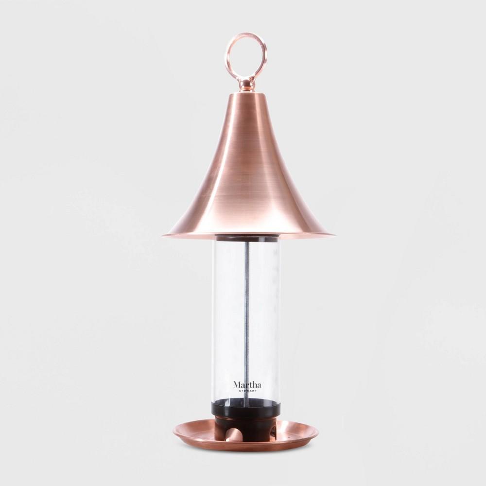 Image of 18' Bird Feeder Copper (Brown) - Martha Stewart