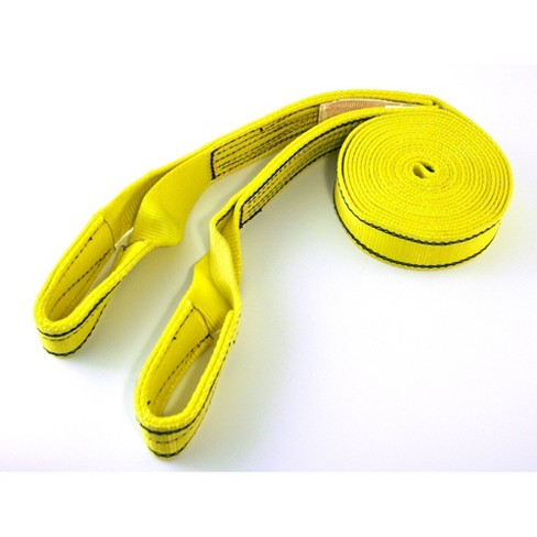 Progrip 20'x2' Tow Strap With Loop Yellow - image 1 of 3