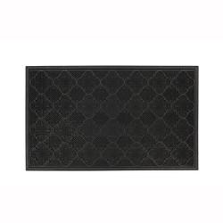 "1'6""X2'6"" Solid Doormat Black - Mohawk"