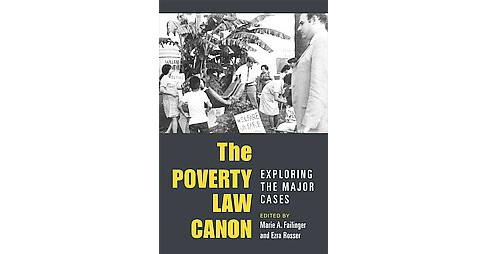 Poverty Law Canon : Exploring the Major Cases (Paperback) (Ezra Rosser) - image 1 of 1