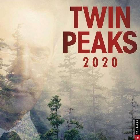 Twin Peaks Calendar 2020 Twin Peaks 2020 Wall Calendar   By Showtime : Target