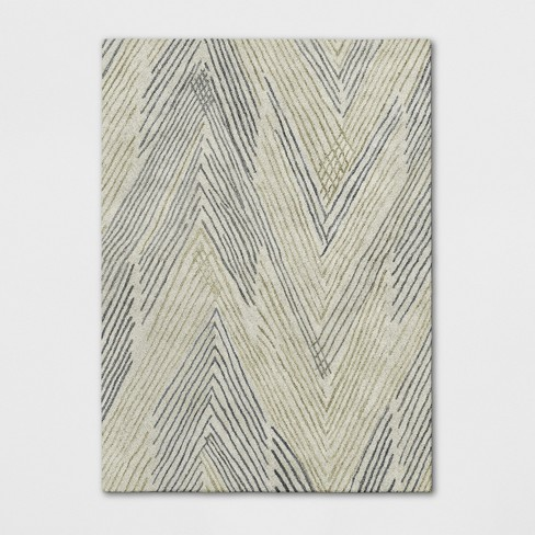 Tufted Wool Abstract Chevon Area Rug - Project 62™ - image 1 of 3