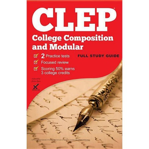 CLEP College Composition/Modular 2017 - by  Jessica Egan & Sharon A Wynne (Paperback) - image 1 of 1