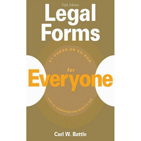 Legal Forms for Everyone - 5 Edition by  Carl W Battle (Mixed media product) - image 1 of 1