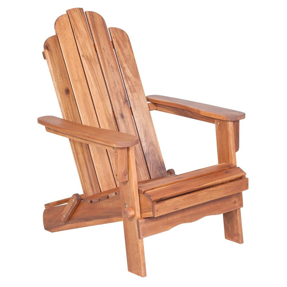 Adirondack Chair (Oil Finish) - Brown - Saracina Home