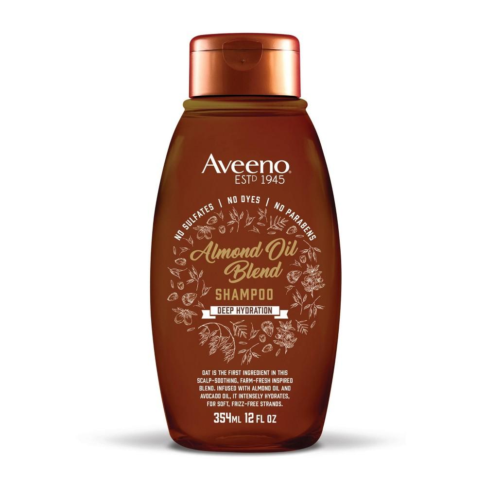 Image of Aveeno Deep Hydration Almond Oil Blend Shampoo - 12 fl oz