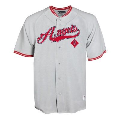 MLB Los Angeles Angels Gray Retro Team Jersey - M
