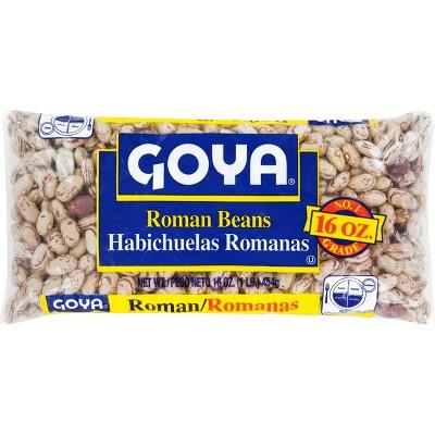 Goya Dry Roman Beans - 16oz