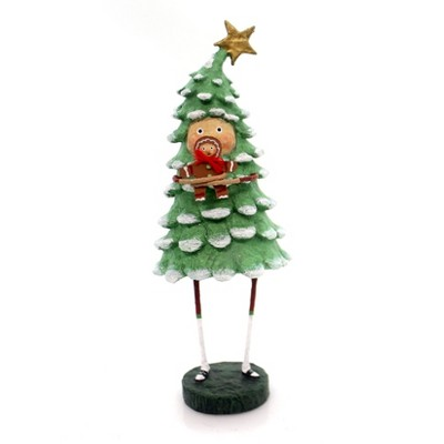 "Lori Mitchell 8.0"" Bruce Spruce Christmas Tree Pine Gingerbread  -  Decorative Figurines"