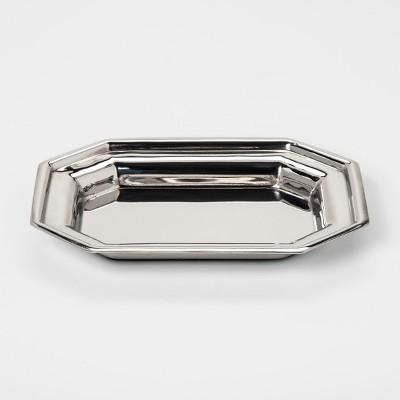 Stainless Steel Soap Dish Nickel - Threshold™