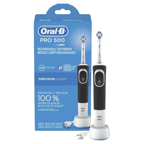 Wonderbaarlijk Oral-B Pro 500 Electric Power Rechargeable Toothbrush With YZ-01