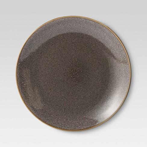 "Belmont Stoneware Reactive Dinner Plate 10.75""x10.75"" Set of 4 - Threshold™ - image 1 of 1"