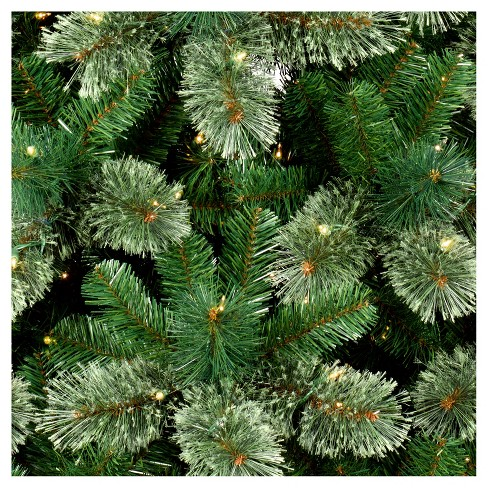 75ft prelit artificial christmas tree virginia pine clear lights wondershop target - Decorated Artificial Christmas Trees