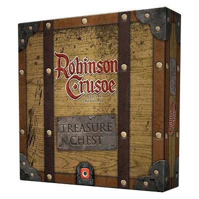 Robinson Crusoe - Treasure Chest Board Game