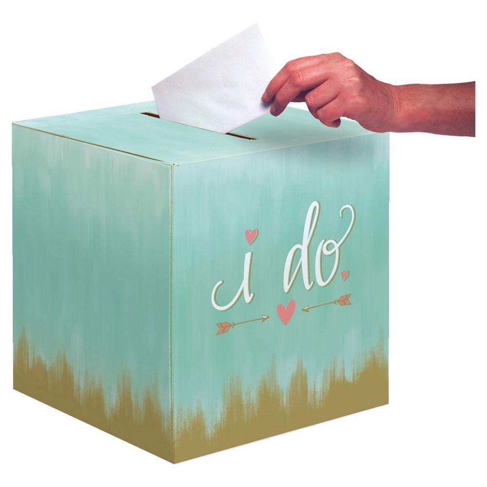 Mint to Be Bridal Card Box