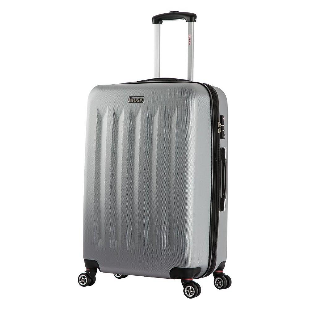 InUSA Philadelphia 27 Hardside Spinner Suitcase - Gray