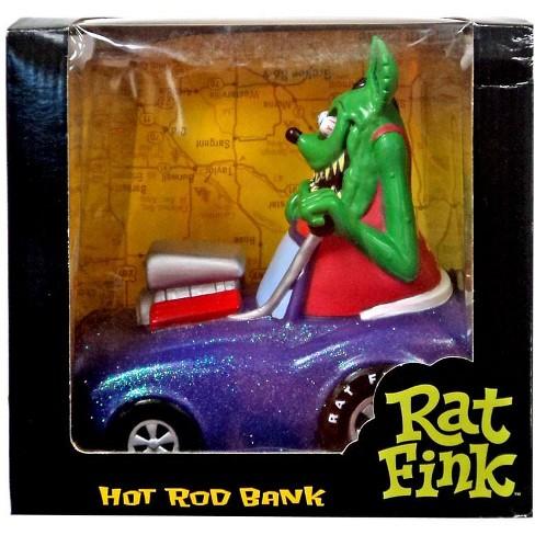 Funko Kustom Kulture Rat Fink Hot Rod Bank - image 1 of 1