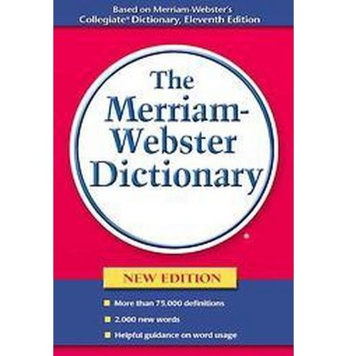 Merriam-webster Dictionary (New) (Paperback) - image 1 of 1