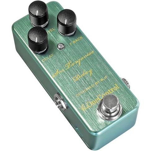 One Control Sea Turquoise Delay Effects Pedal - image 1 of 3