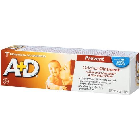 A+D Original Diaper Rash Ointment - 4oz - image 1 of 4