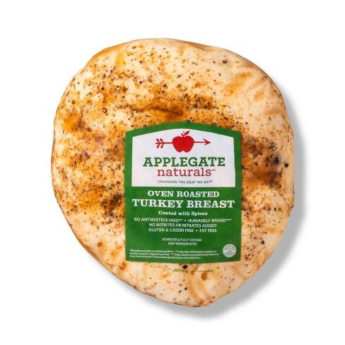 Applegate Naturals Oven Roasted Turkey Breast - Deli Fresh Sliced - price per lb - image 1 of 3