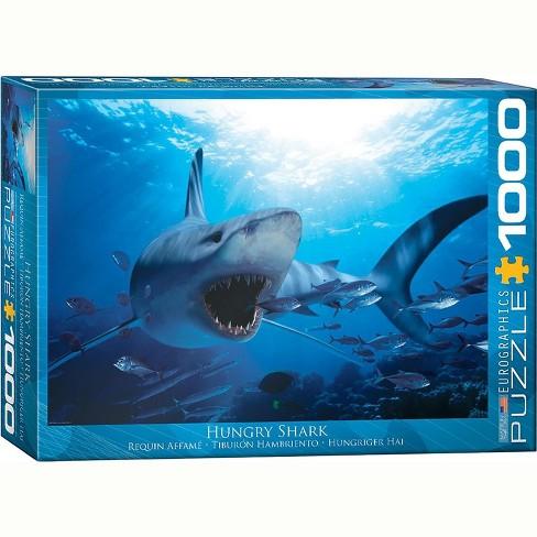 Eurographics Inc. Hungry Shark 1000 Piece Jigsaw Puzzle - image 1 of 4