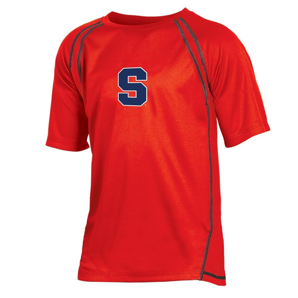 Syracuse Orange Boys' Impact Poly Performance T-Shirt L, Multicolored