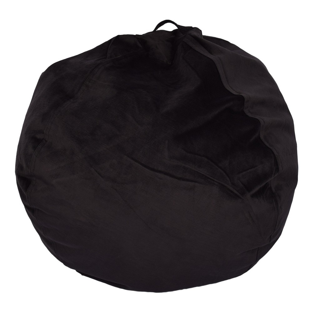 Image of Bean Bag Chair - Black - Reservation Seating