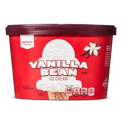 Natural Vanilla Ice Cream - 1.5qt - Market Pantry™