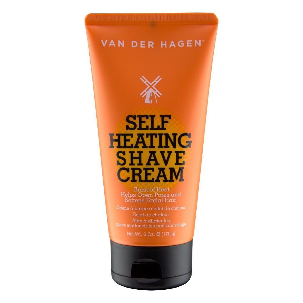 Image of Van der Hagen Self Heating Shave Cream - 6oz