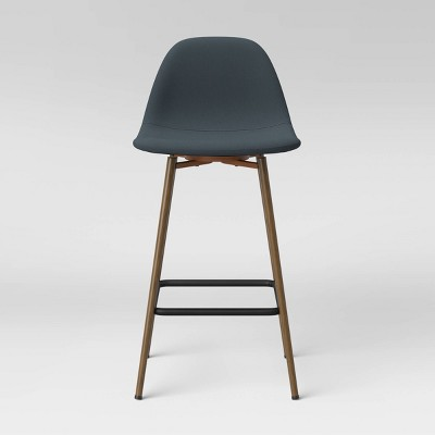 Copley Upholstered Counter Height Bar Stool Light Teal - Project 62™