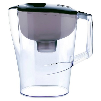 Water Filtration Pitcher Black 10 Cup Capacity - Up&Up™