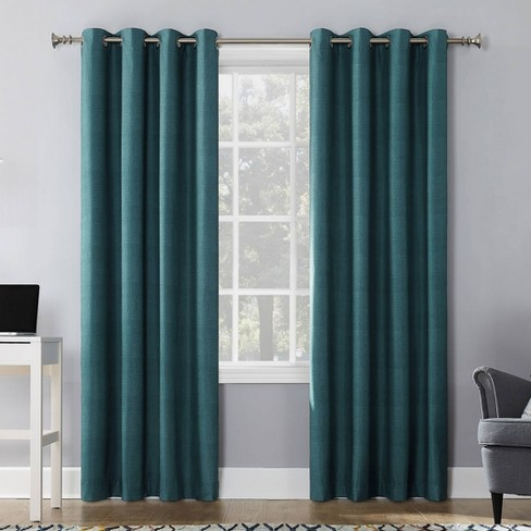 Duran Thermal Insulated 100% Blackout Grommet Curtain Panel - Sun Zero - image 1 of 4