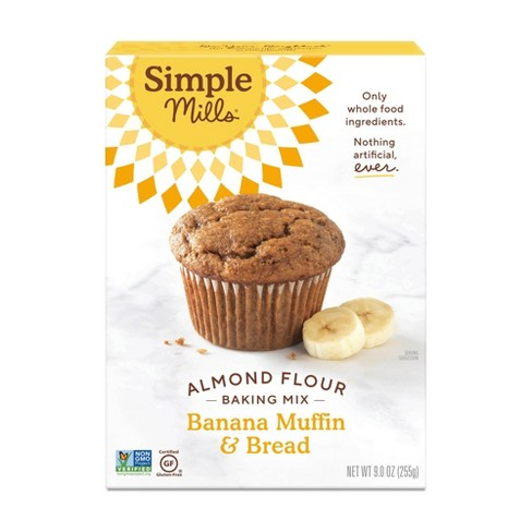 Simple Mills Gluten Free Banana Muffin & Bread Almond Flour Baking Mix - 9oz - image 1 of 4