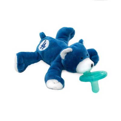 WubbaNub Pacifier - Dodgers Bear