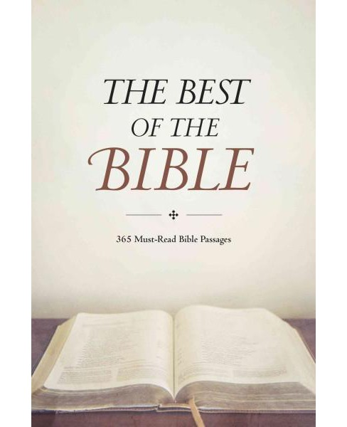 Best of the Bible (Paperback) - image 1 of 1