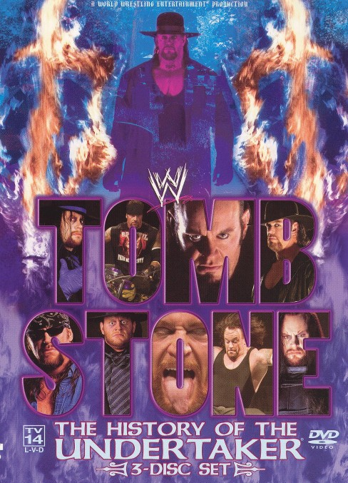 Tombstone:History Of The Undertaker (DVD) - image 1 of 1
