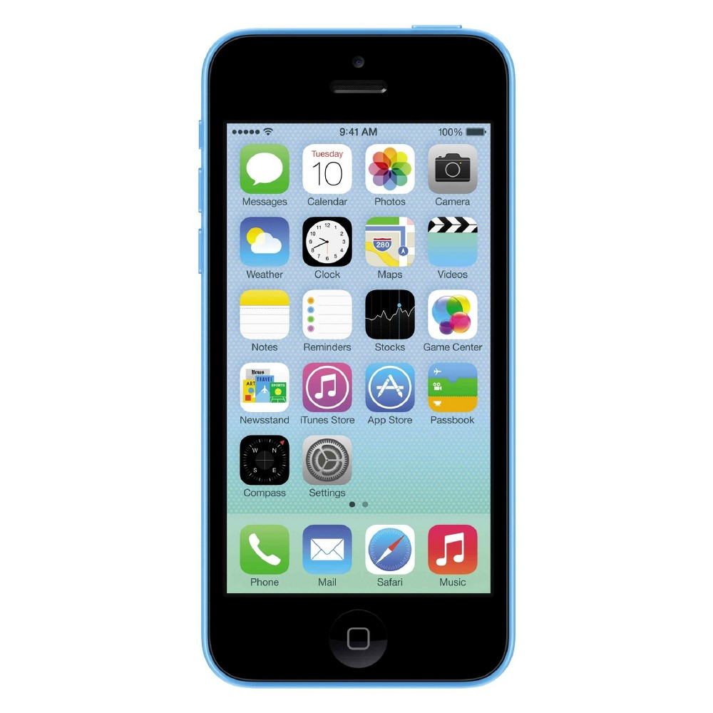 Apple iPhone 5c Certified Pre-Owned (Gsm Unlocked) 32GB Smartphone - Blue