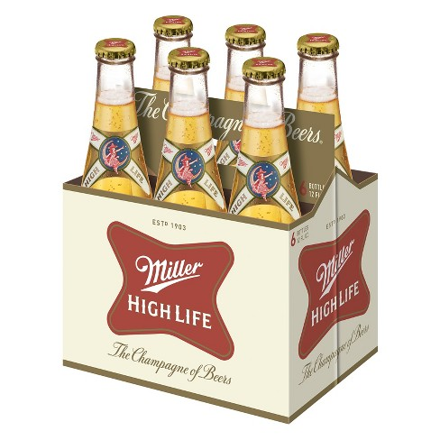 Miller High Life® Beer - 6pk / 12oz Bottles - image 1 of 1